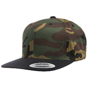 Adult 6-Panel Structured Flat Visor Classic Snapback Thumbnail