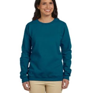 Heavy Blend™ Ladies' 8 oz., 50/50 Fleece Crew Thumbnail